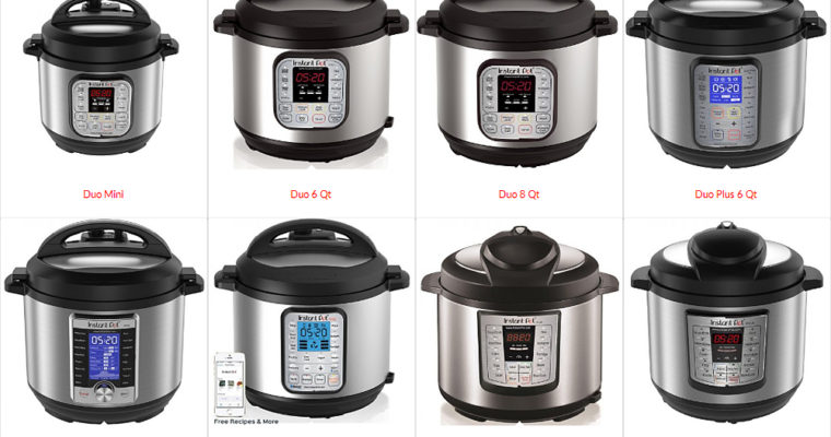 Instant Pot: Which model to choose?