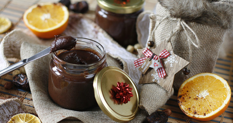 Chocolate-hazel spread