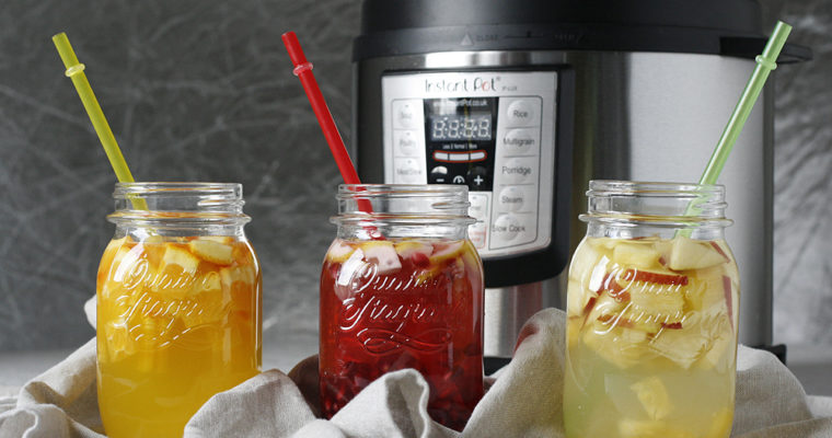 Instant pot: infused water